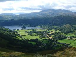 Grasmere, described as the loveliest place by Wordsworth in Lake District