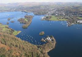 Windermere - beautiful part of the Lake District
