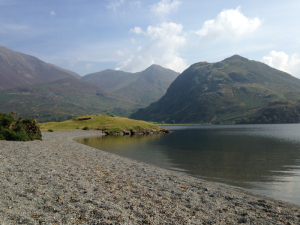 Buttermere open water swim