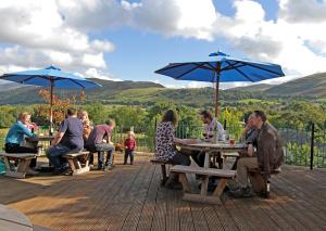 Restaurant beer terrace